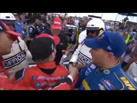 NASCAR Fights, Arguments and Tempers
