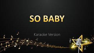 So Baby - Anirudh Ravichander (Karaoke Version)