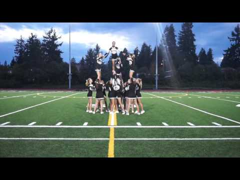 Lynnwood High School Cheer Homecoming Halftime 10/16/15