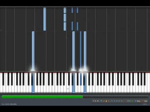 Three Cheers For Five Years Piano Tutorial (First)