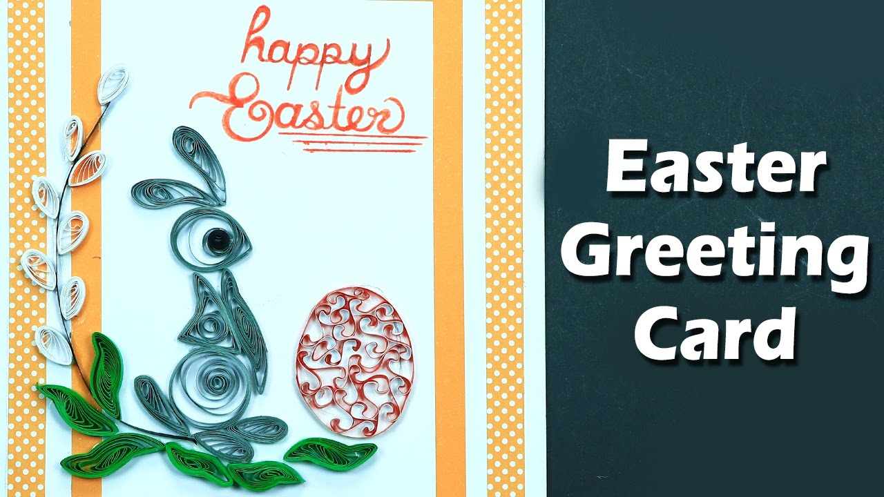 Easter cards how to make quilling easter greeting card step by step easter cards how to make quilling easter greeting card step by step m4hsunfo