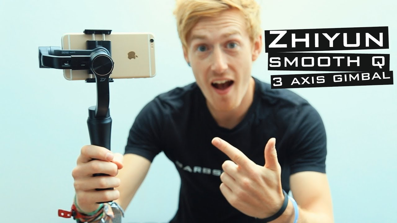 Zhiyun Smooth Q Cheap Smartphone 3 Axis Gimbal Review Youtube Tripod Pole For Crane 3axis M