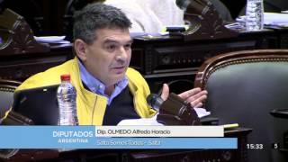 Diputado Olmedo Alfredo Horacio - Sesión 14-09-2016
