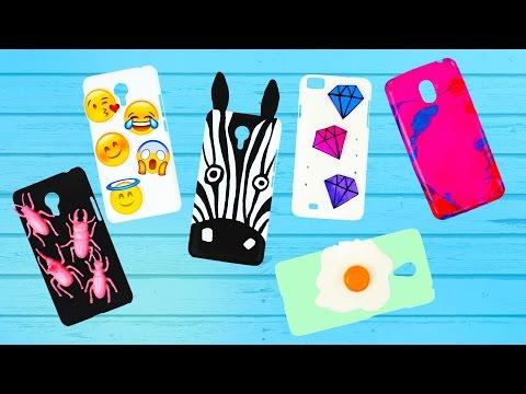 6 идей чехлов для телефона своими руками