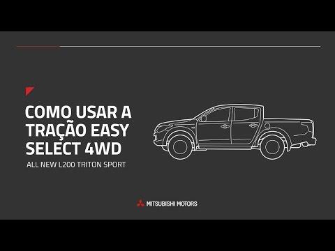 All New L200 Triton Sport GLS   Tração Easy Select 4WD