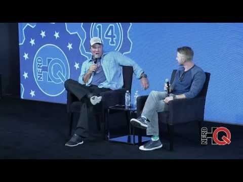 A Conversation With Adam Baldwin & Comic Book Writer Nathan Edmondson Live From #NerdHQ 2014