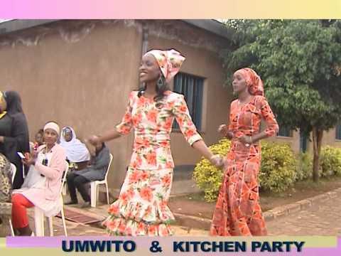 MUSLIM WOMEN IN RWANDA: Ibirori by'umwito na Kitchen Party