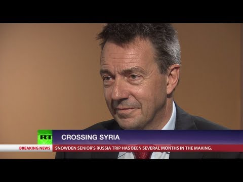 Crossing Syria (ft. International Committee of the Red Cross
