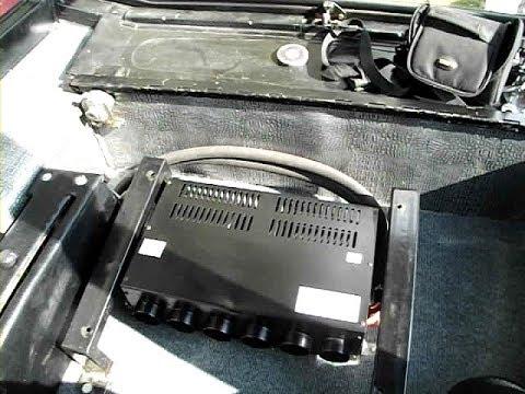 Установка отопителя (печки) в кабину мтз (Рубин 303)
