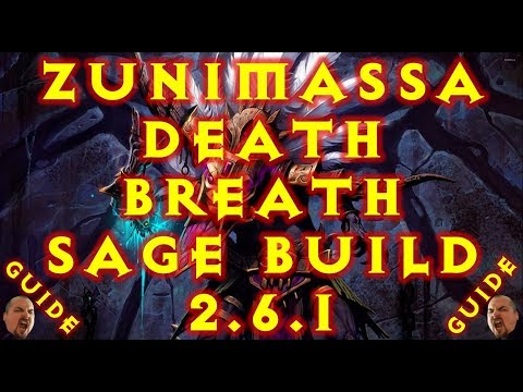 Diablo 3 WD Zunimassa Sage Death Breath Speed T13 Build 2.6.1