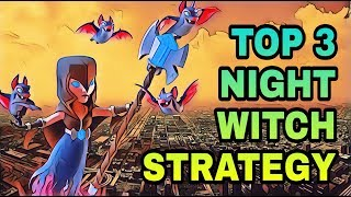 COC BH7 BEST ATTACK STRATEGIES | TOP 3 BUILDER HALL 7 NIGHT WITCH ATTACK STRATEGY | CLASH OF CLANS