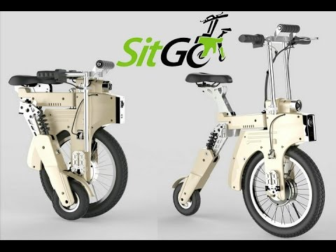 sitgo the world 39 s best electric folding bike youtube. Black Bedroom Furniture Sets. Home Design Ideas