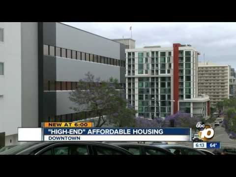 'High-end' affordable housing comes to downtown San Diego