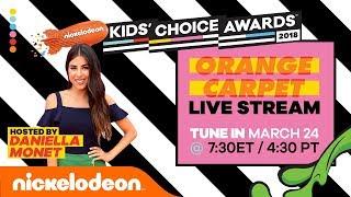 LIVE From the Orange Carpet: 2018 Kids' Choice Awards Pre-Show