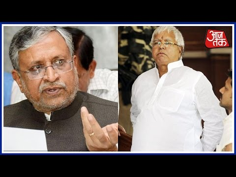 Political Reaction On Lalu Prasad's Income Tax Raid