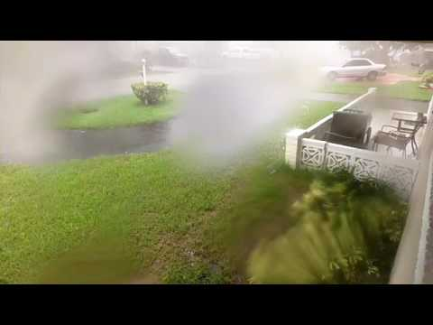 Tornado in Pembroke Pines 060917