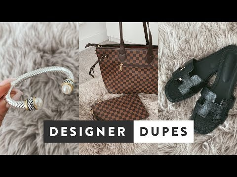 Best Designer Dupes On Amazon UK | Gucci, Louis Vuitton, Balenciaga, Hermes, David Yurman