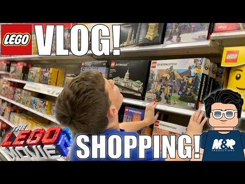 LEGO MOVIE 2 SETS SHOPPING! | MandRproductions LEGO Vlog!