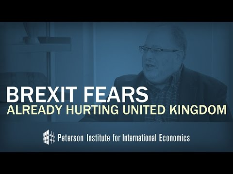Brexit Fears Already Hurting United Kingdom