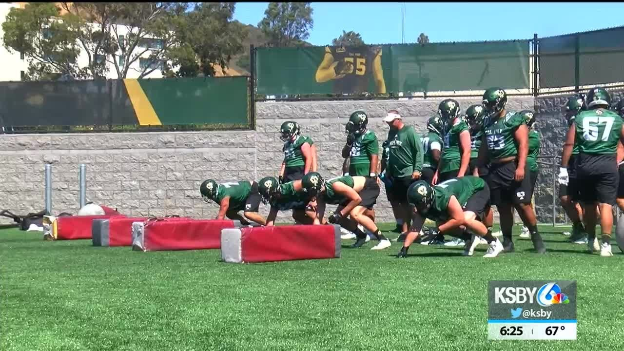 cal-poly-opens-fall-camp-friday-afternoon-at-doerr-family-field