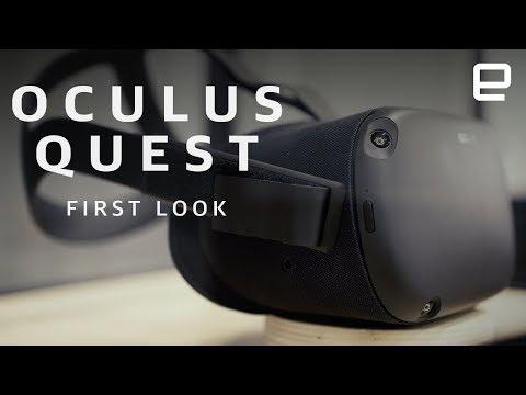 Oculus Quest First Look