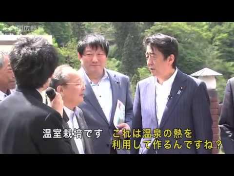 Prime Minister Shinzo Abe Visits Fukushima Prefecture May 17, 2014