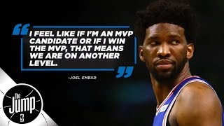 Is MVP a realistic goal for Joel Embiid? | The Jump | ESPN