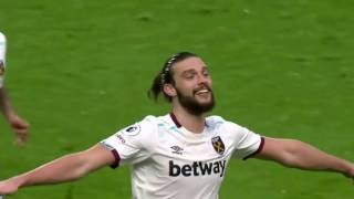 Andy Carroll! Four goals in four matches