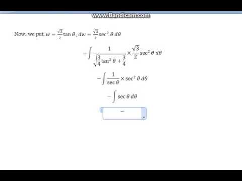 Integral of the reciprocal of square root of quadratic functions (+bonus question)