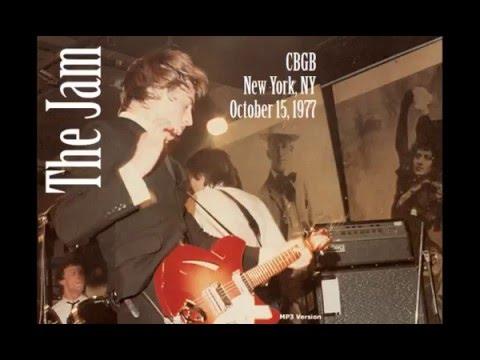 The Jam : CBGB New York 1977