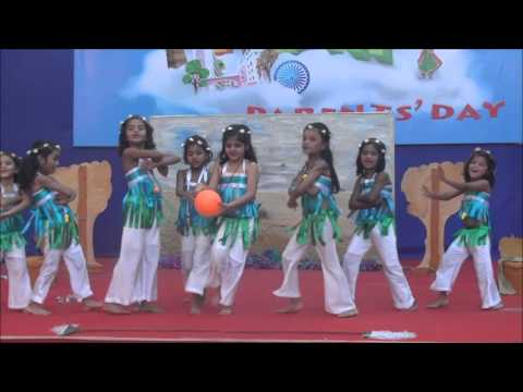 Save the Environment Dance: Dance performed by  kids of St. Mary's Vidyaniketan, (the KG section of St. George High School Malad East) on the twin celebration of Republic day and Parents'Day on the 26 of January 2016. Choreographed by teacher Priyanka and team