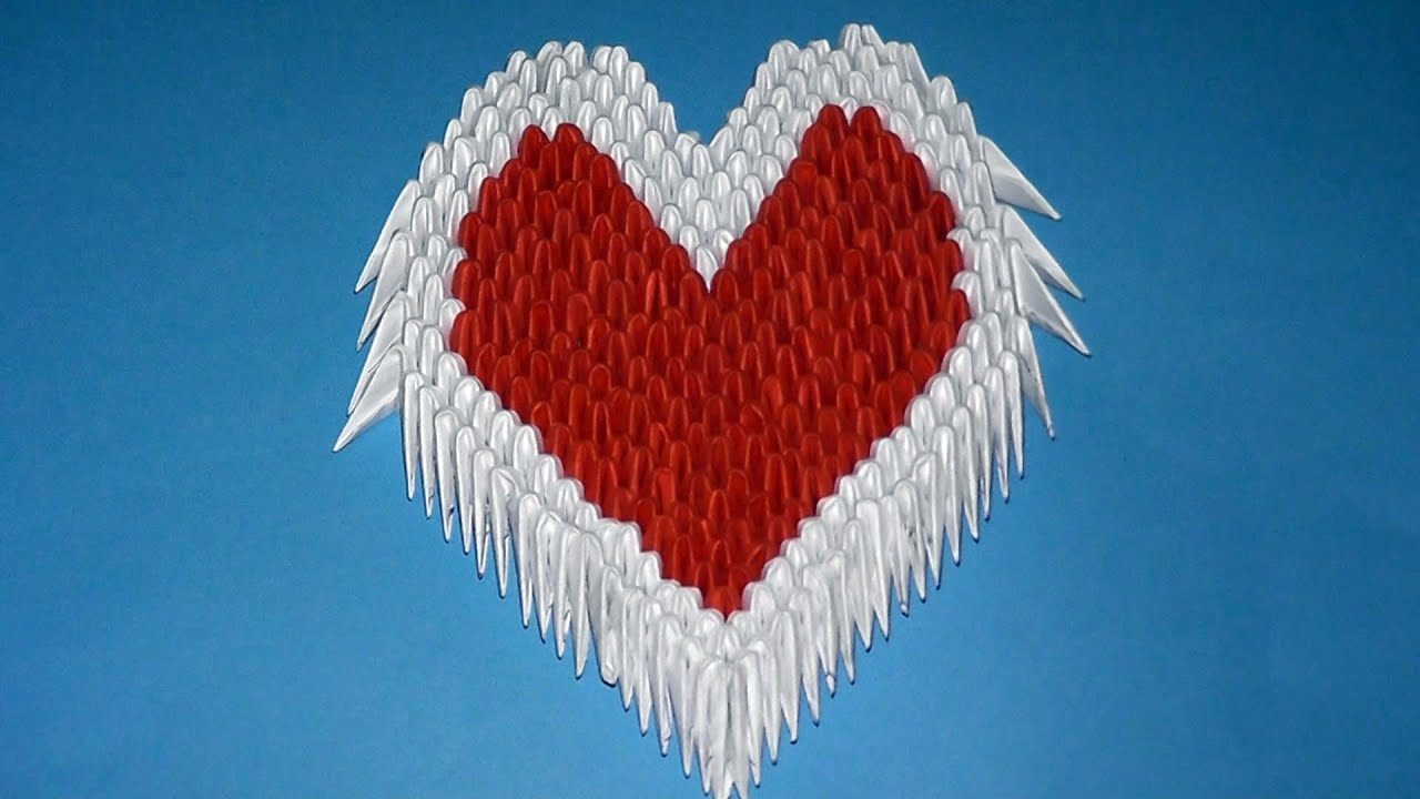 Origami 3d Heart