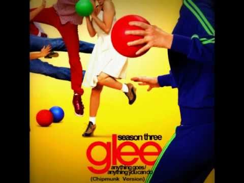 Anything Goes / Anything You Can Do - Glee Cast (Chipmunk Version)