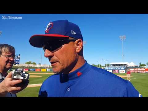 Jeff Banister impressed with Martin Perez outing