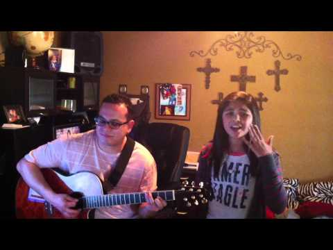 Bruno Mars It will Rain acoustic cover by Kaylise Renay and Fabian Saldania