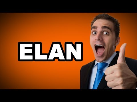 💃 Learn English Words - ELAN - Meaning, Vocabulary With Pictures And Examples