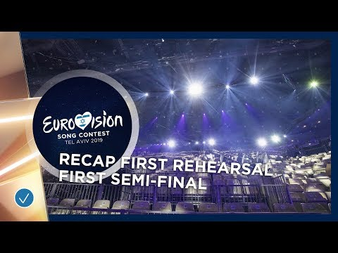 RECAP: First Rehearsals of the first Semi-Final
