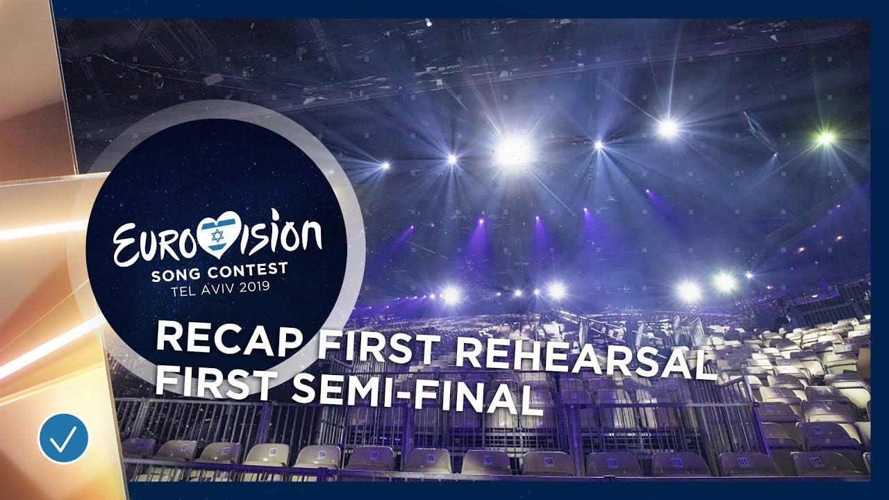 Првите проби на евровизиските учесници во прва полуфинална вечер – во едно видео