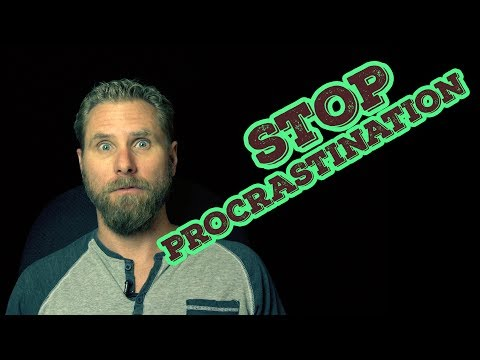 Procrastination & Screenwriting | How to keep writing to finish your movie