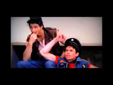 The ONLY Happy Days fight  where Fonzie, Carmine, Richie, Potsie, Ralph all actually