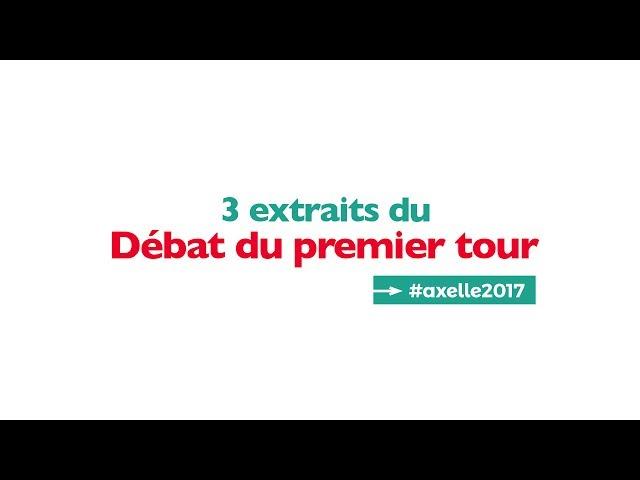 3 extraits du débat du 1er tour (Axelle Lemaire et Alexandre Holroyd)