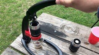 Espresso Anywhere - Flair - Manual Espresso Maker - Review