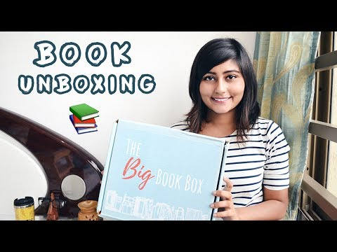 Unboxing 'The Big Book Box' || Book Subscription Box