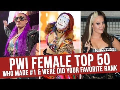 PWI Female Top 50 2017: Who Made #1 & Where Did Your Favorite Rank