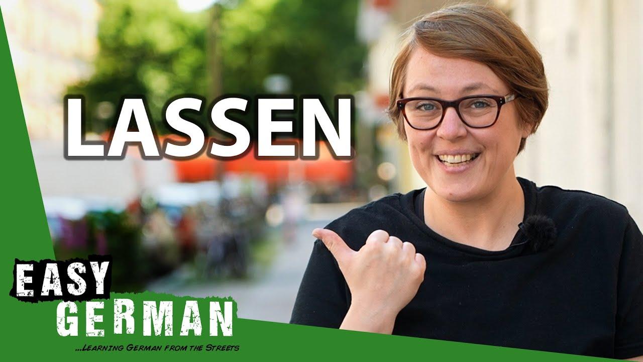 German Verbs: Lassen | Super Easy German 173