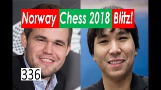 Norway Chess 2018: Blitz tournament!