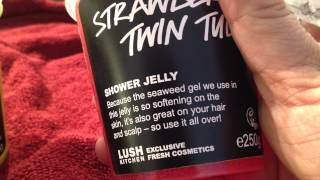 Lush Handmade Cosmetics Kitchen 8 - Strawberry Jelly, Almond Kisses, Zest