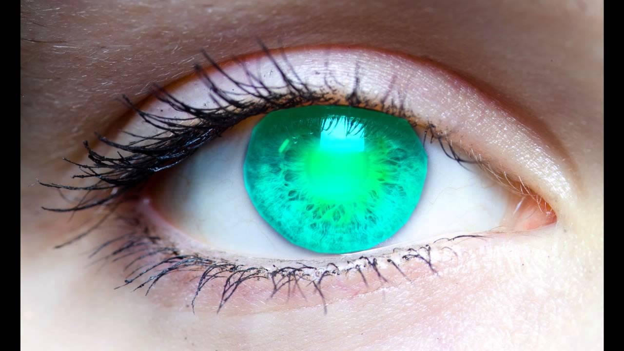 Super Saiyan Eyes Test For Sony Vegas Youtube