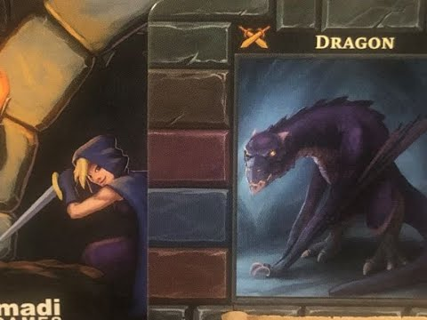 One Deck Dungeon Rogue v Dragon Rd 2 3 |