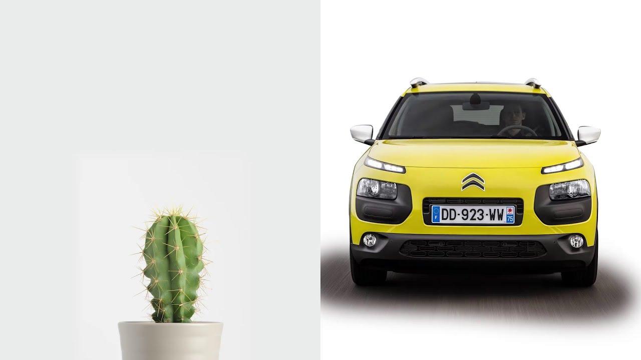 Citroen C4 Cactus Green >> C4 Cactus: low consumption - YouTube